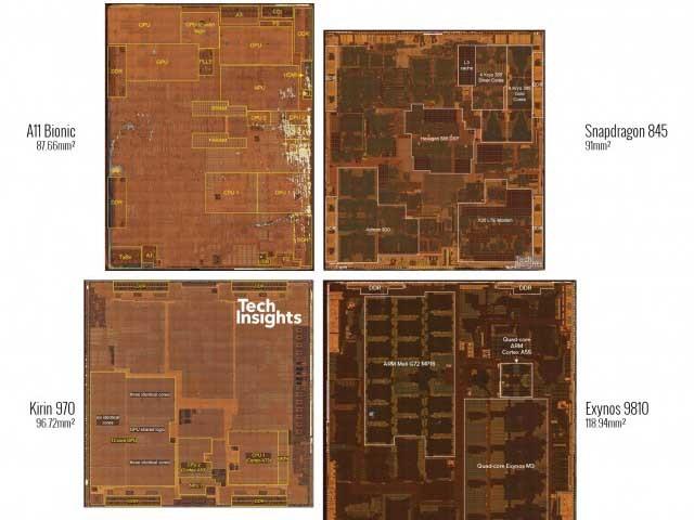 Qualcomm, Samsung, Huawei a Apple