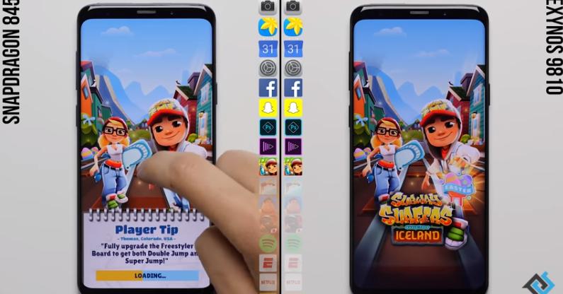 Galaxy S9 (Snapdragon) vs. Galaxy S9 (Exynos)