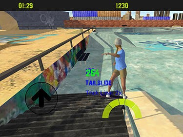 Hra Skateboard freestyle extreme 3D   sport hry oddechove hry novinky androidhry