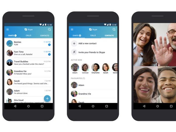Skype aplikace Google Play Lite verze