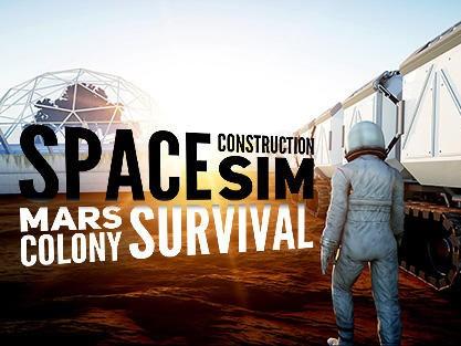 Space Construction Simulator-Mars Colony Survival