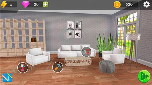 Hra Home design challenge