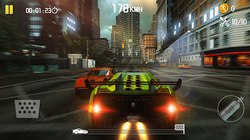 Android hra Speed traffic: Racing need