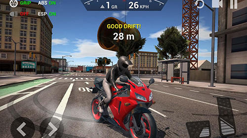 Hra Ultimate motorcycle simulator   zavodni hry androidhry