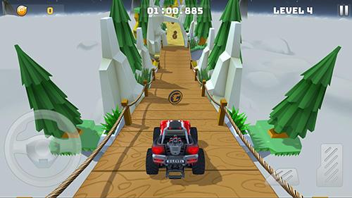 Android hra Mountain Climb Stunt
