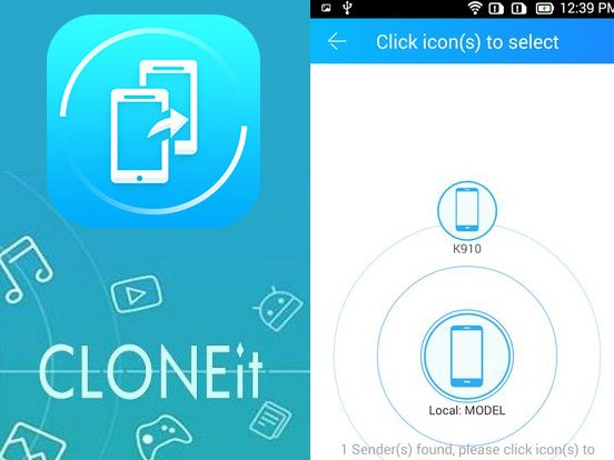 Aplikace CLONEit - Batch copy all data