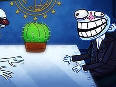 Troll face quest politics