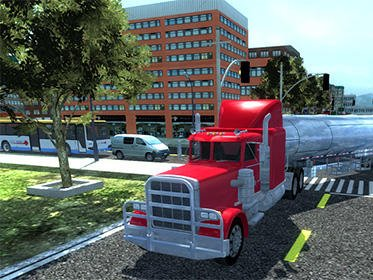 Hra Big truck hero 2   oddechove hry androidhry