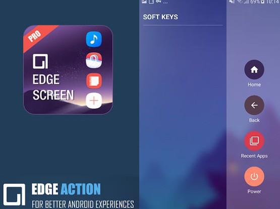 Aplikace Edge screen
