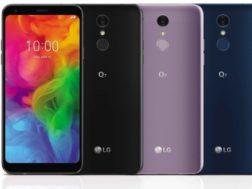 LG představilo tři nové chytré telefony s poměrem 18:9. LG Q7, Q7+ a Q7α