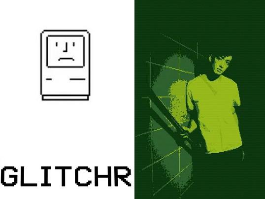 Aplikace Glitchr
