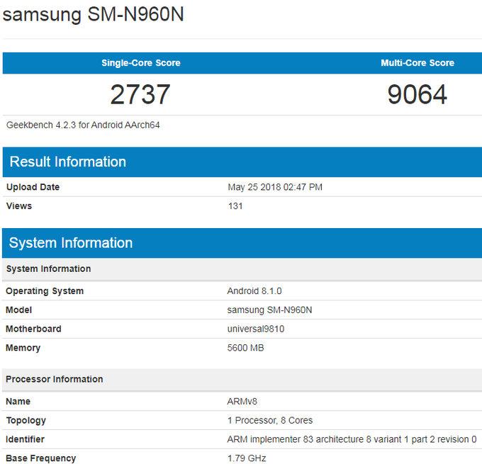 Varianta Samsung Galaxy Note 9 s Exynos bude rychlejší než Snapdragon