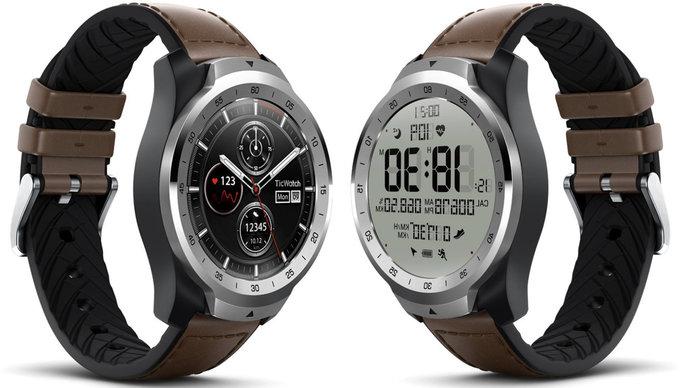 Mobvoi odhalil nové TicWatch Pro chytré hodinky poháněny systémem Wear   novinky