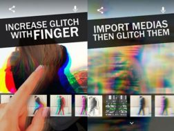 Aplikace Glitchee: Glitch video effects