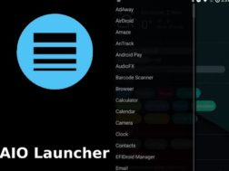 Aplikace AIO Launcher