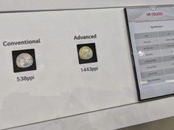 Google a LG displej odhalili OLED displej pro VR brýle s 1443ppi a 120Hz