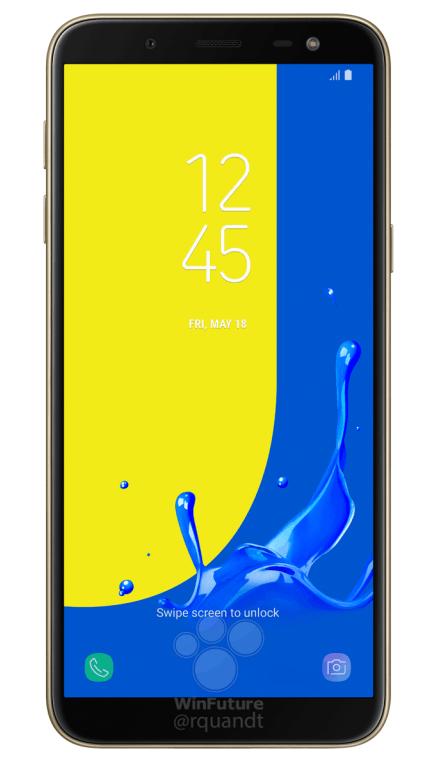 Samsung Galaxy J6 (2018) a novinářské rendery před odhalením