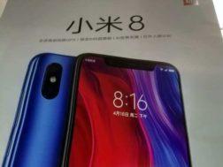 Xiaomi Mi 8  s výřezem a duálním fotoaparátem