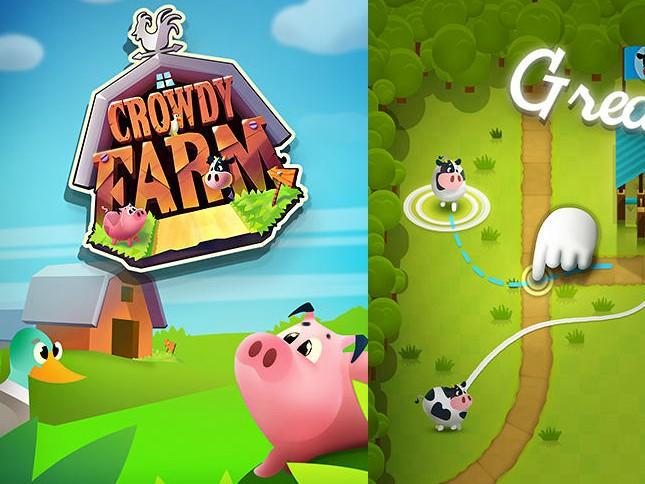 Hra Crowdy farm: Agility guidance