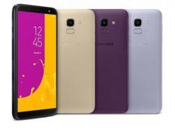 Samsung Galaxy J6 a J4 oficiálně představeny