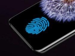Samsung odhalil díky patentu fungování otisků po celém displeji