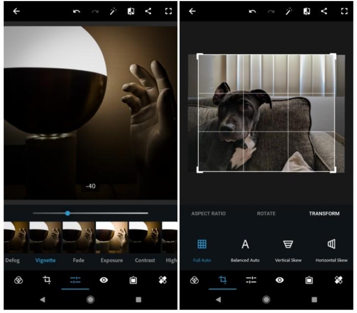 Aplikace Photoshop Express má nové funkce