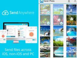 Aplikace Send Anywhere