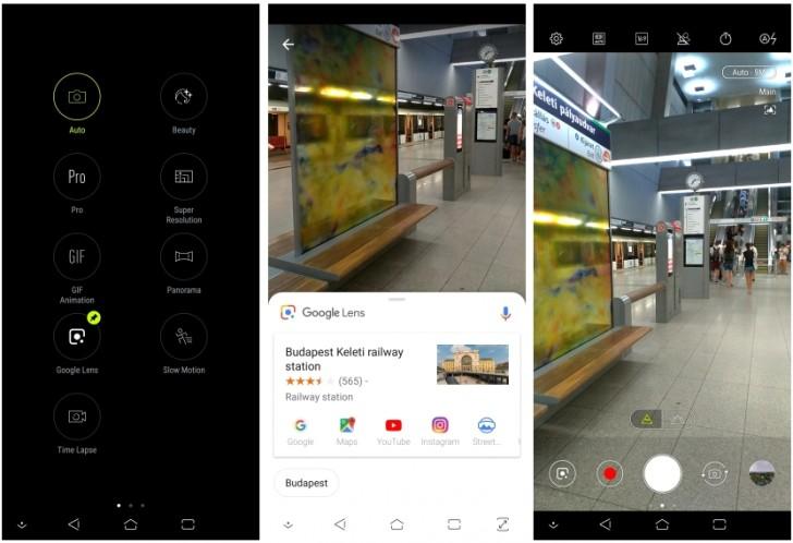 Asus PixelMaster aplikace kamery dostala funkci Google Lens   novinky