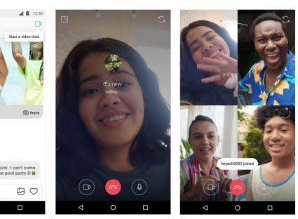 Instagram přidává skupinové hovory, lepší vyhledávací sekci a mnohem více efektů   novinky