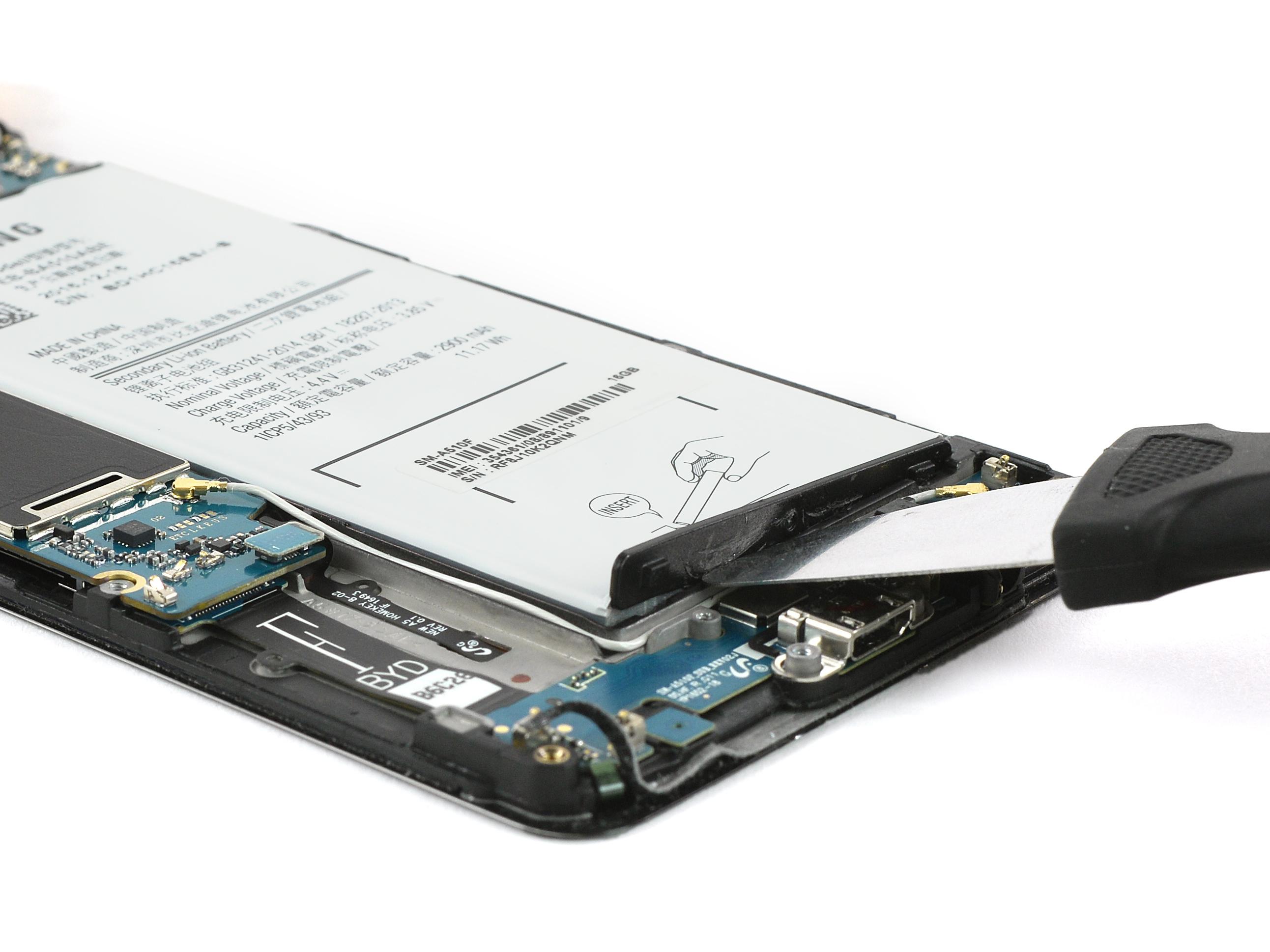 Jak vyměnit baterií u Samsung Galaxy A5 2016   novinky