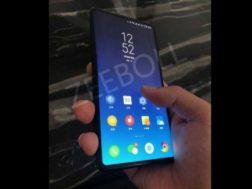 Krátké video ohledně odemykání s Xiaomi Mi Mix 3