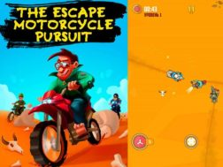 Hra The escape: Motorcycle pursuit