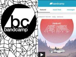 Aplikace Bandcamp
