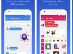 Aplikace Google pro SMS v prohlížeči
