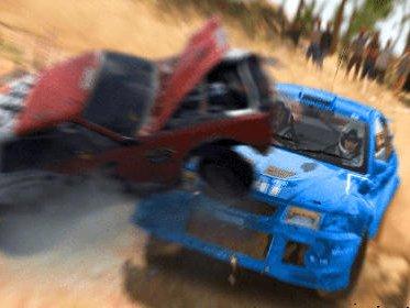 Car racing: Dirt drifting