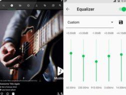 Aplikace Musicolet – hudební přehrávač zdarma