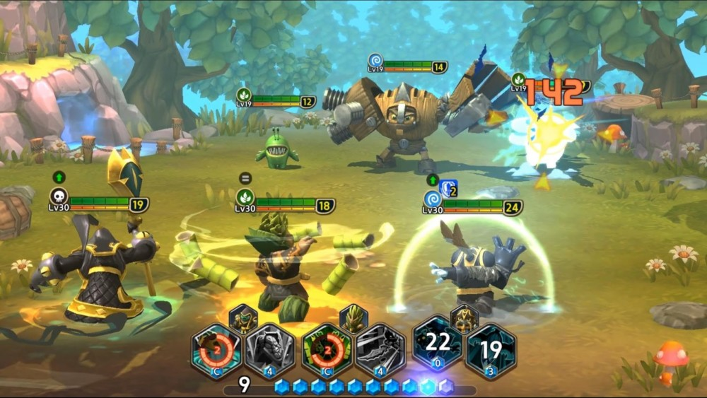 Beta verze Skylanders: Ring of Heroes  dostupná do 25. června   novinky androidhry