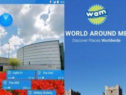 Aplikace World Around Me