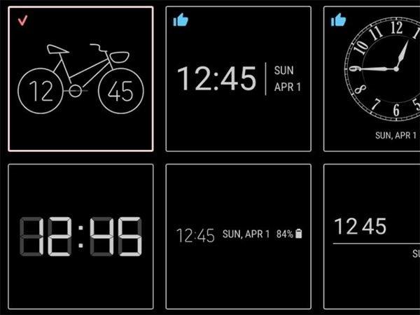Samsung ClockFace