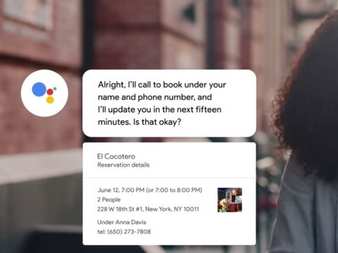 Google Duplex Assistant může nahradit call centra