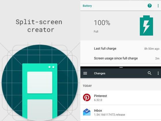 Aplikace Split screen creator   nastroje a pomucky android androidaplikace