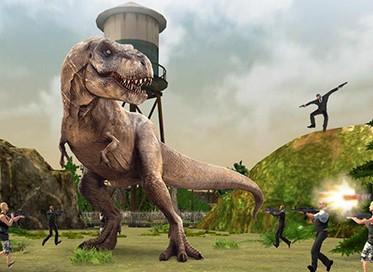 Hra Dinosaur hunt PvP