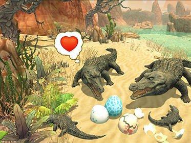 Hra Crocodile family sim: Online