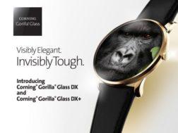 Gorilla Glass DX a DX+ pro chytré hodinky