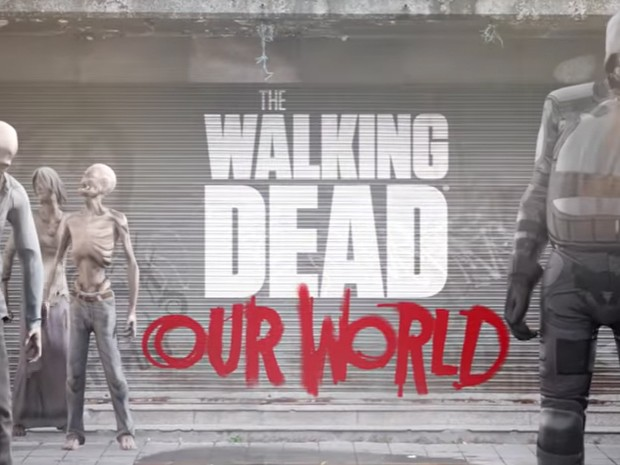 Hra The Walking Dead: Our World s AR prvky   novinky androidhry akcni hry