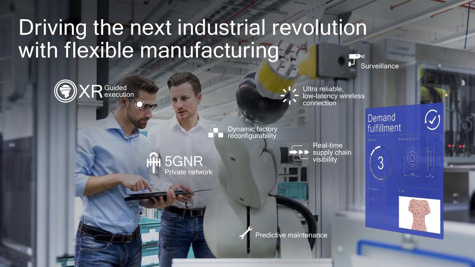 5G síť součásti další průmyslové revoluce