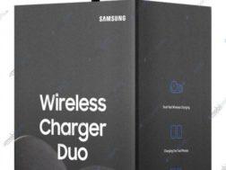 Bezdrátová nabíječka pro Galaxy Note 9 a Galaxy Watch zároveň