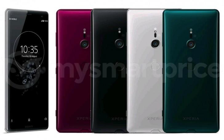 Barvy telefonu Sony Xperia XZ3
