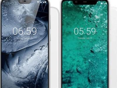 Nokia 5.1 Plus a Nokia 6.1 Plus