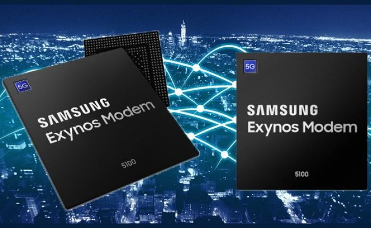Samsung 5G síť s modemem Exynos 5100